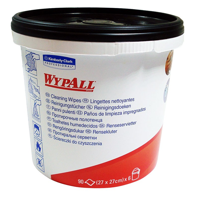 Kimberly Clark Industrial Wipes Tub (90 sheets)