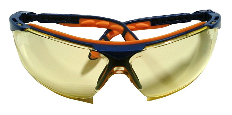 Uvex Scratch Resistant Amber Safety Glasses