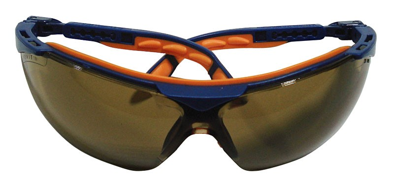 Uvex Scratch Resistant Brown Safety Glasses
