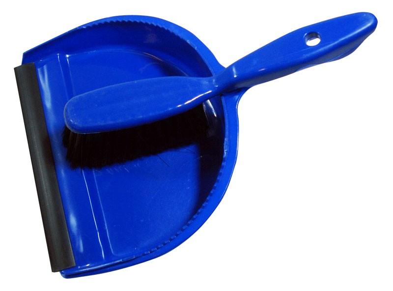 Plastic Dustpan & Brush Set
