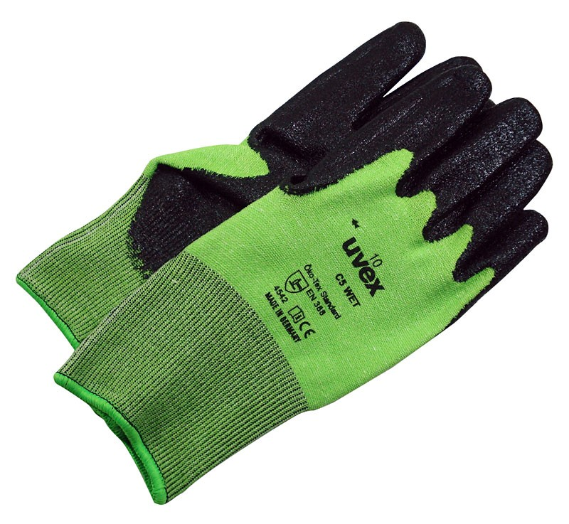 Helix C5 Wet Lime / Anthracite Gloves (PRS)