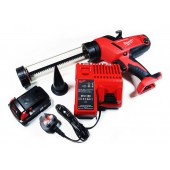 Milwaukee 18v Gun - battery, charger & canvas bag