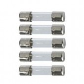 5 Amp Glass Fuse x5