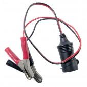 Battery crocodile clip adaptor